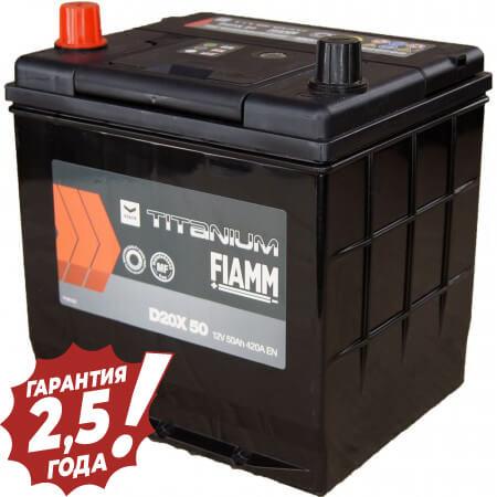 Аккумулятор Fiamm Japan Diamond - D20X 50Ah 420A