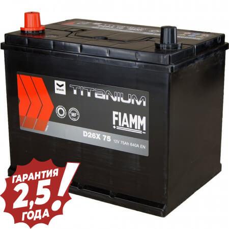 Аккумулятор Fiamm Japan Diamond - D26X 75Ah 640A