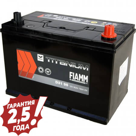 Аккумулятор Fiamm Japan Diamond - D31 95Ah 760A