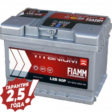 Аккумулятор Fiamm W-Titan - 60Ah 600A