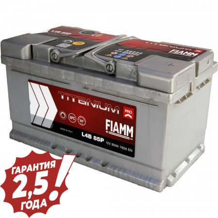 Аккумулятор Fiamm W-Titan - 85Ah 760A