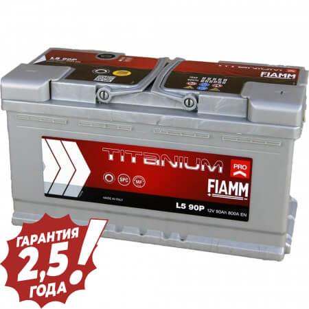 Аккумулятор Fiamm W-Titan - 90Ah 800A