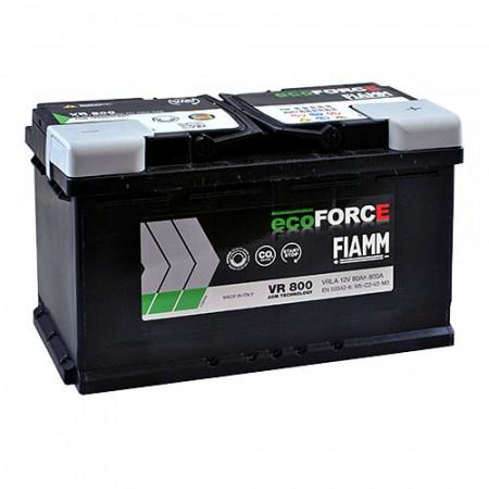 FIAMM START-STOP VR800 ECOFORCE_AGM 12V-80Ah