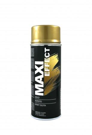 Краска Maxi Color Золотая 400ml