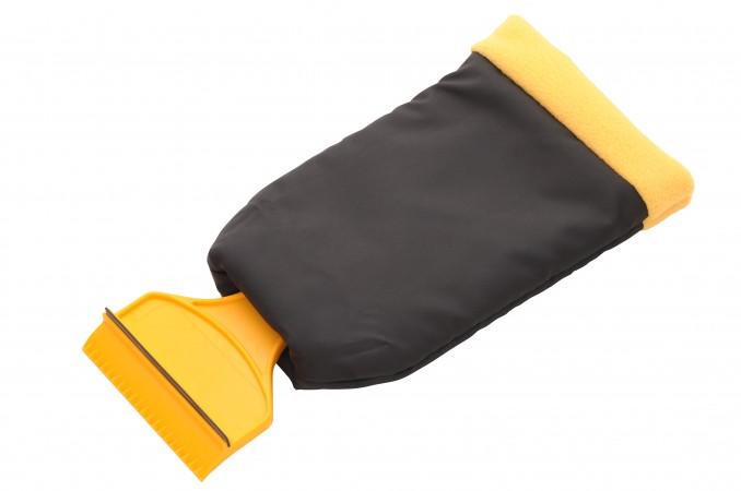 Скребок-рукавица